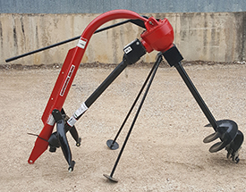 Heavy Duty Pendulum Type Post Hole Digger