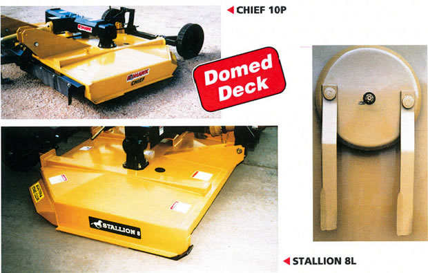 Stallion 8 & Chief 10 Rotary Cutters